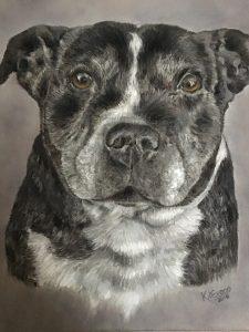 Lady Pastel Pet Portrait